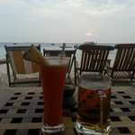 Drinks at the Sunset Bar