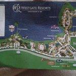 Mapa do hotel