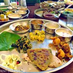 The Deluxe Thali