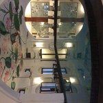 Kitsch swimming pool