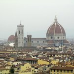 Panoramic views of Florence from Piazzale Michaelangelo