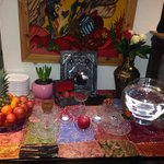 The persian new year celebration table... Looks fantastic! The food was fabulous!