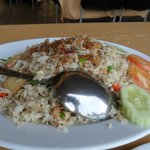 arroz frito á oriental