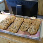 Warm Cookies at Check in