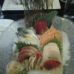 Sushi Sashimi Combo. Yum!