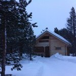 chalet 8. homely, warm accommodation.