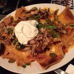 Nachos con salse e carne: squisiti!
