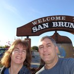 On walk in San Bruno