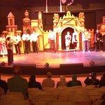 Evening show in the amphiteatre