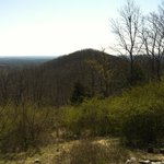 View of Little Kennesaw Mountain from atop Kennesaw Mountain