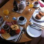 Scottish Breakfast + Croissants