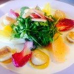 Salade de saint Jacques aux agrumes !