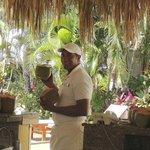Vidal, the Cascade pool barmen