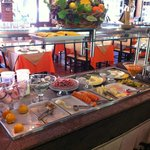 Mesa de café da manhã.