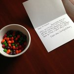 My request for non-yellow skittles only! Beauty