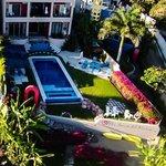 Villa Amor del Mar property, infinity pool