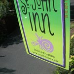 Colorful sign and the Inn itself!!!