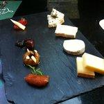 Mix de queijos.