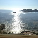 View of Ixtapa Island from room.