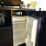 Large, free refrigerator space