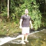 Cachoeira do hotel