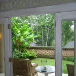 A view from Villa 33 and its terrace at Uma by Como Ubud in Bali