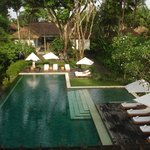 A view of incredible Uma by Como Ubud's pool area in Bali