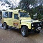 our Safari Land Rover