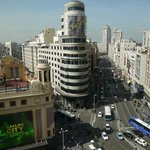 View from the roof of El Corte Ingles