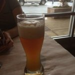 A Paulaner beer as it was served to me.