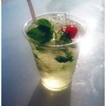 Mojito at the Pool Bar