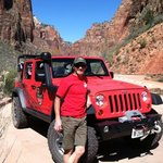 Offroad in Zion Canyon