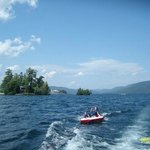 Lake George - tubing