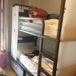 the bunks in our 6 bed room