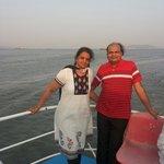 Sea ride at gateway of india