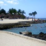 the snorkeling beach