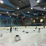 Moscow Dynamo Youth Hockey Practice