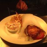 Breaded chicken chilli wrap