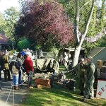 Red Devils at the Museum on war weekend