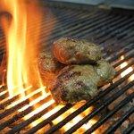 Lam Kofte in flames