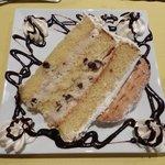 Cannoli Cake at Hunter's Den