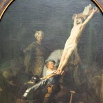 Crucifixion by Rembrandt