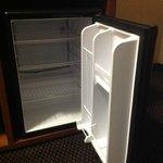 Mini fridge in every suite