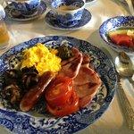 A delicious Welsh breakfast