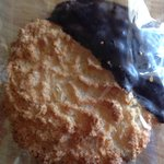 So good, it deserved its own picture. Coconut macaroon.