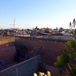 Un Déjeuner à Marrakech Roof Vieuw