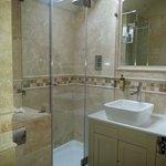 Our luxurious bathroom.