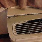 Broken heater/ac unit