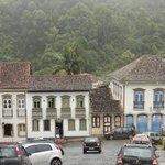 Ouro Preto visto do hotel