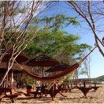 beach area by the bar